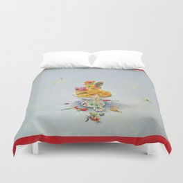 Year of the Rooster (with border) Duvet Cover