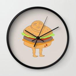 Hambummed Wall Clock