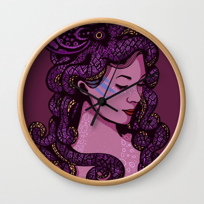 A Mermaid's Hair Wall Clock