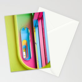 Oblong Colours Stationery Cards