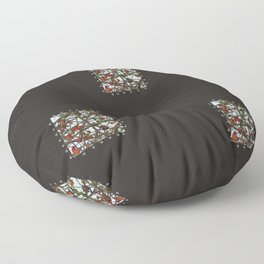 Patched Floor Pillow