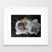 brand new Framed Art Prints featuring Brand New by Ona's Eye