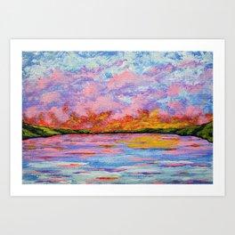 Canandaigua Lake by Mike Kraus Art Print