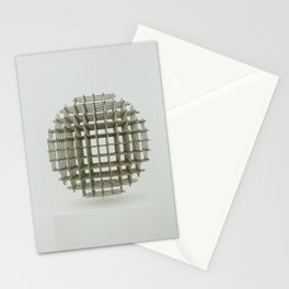 Modern art - Sphere Stationery Cards