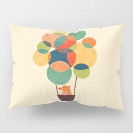 Whimsical Hot Air Balloon Pillow Sham