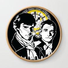 John and Sherlock  Wall Clock