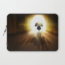Angel In A Tunnel Of Light Laptop Sleeve