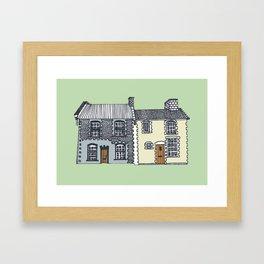 'Norfolk' House Print Framed Art Print