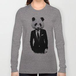 Panda Suit Long Sleeve T-shirt