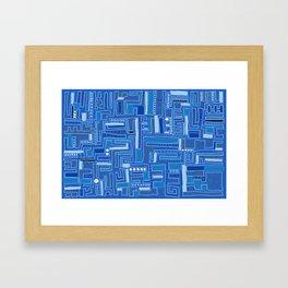 Bloo-bloo-bee-doo! Framed Art Print