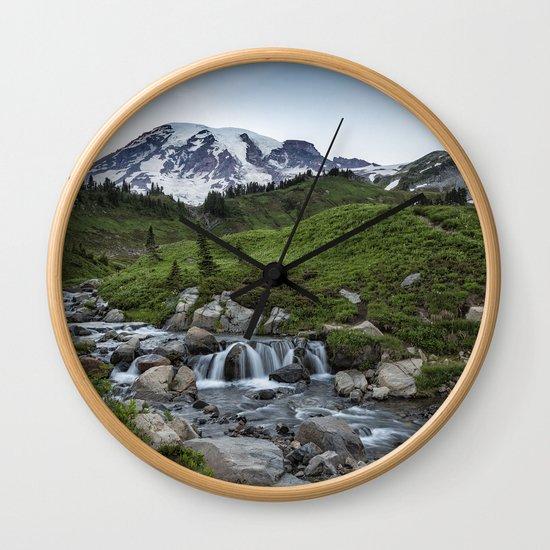 Edith Creek and Mount Rainier by belindagreb