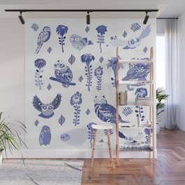 owl index Wall Mural