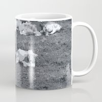 cows Mugs featuring Cows by Mr & Mrs Quirynen