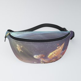 Ship of Pirates Fanny Pack