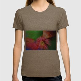 Psychedelic Poppies T-shirt