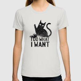 Rebel Kitten I Do what i want T-shirt