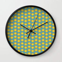 Petals Pattern Wall Clock