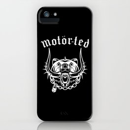 Motor Ted iPhone Case