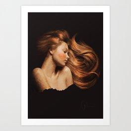 Sleeping Beauty / La Belle Au Bois Dormant Art Print