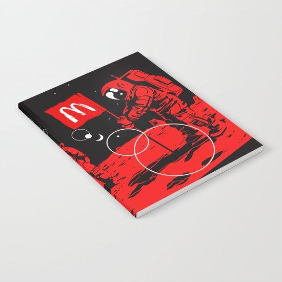 First we take Manhattan, Then we take Mars Notebook