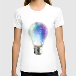 Light up your galaxy T-shirt