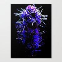 psychadelic Canvas Prints featuring Psychadelic by StrangeBrews