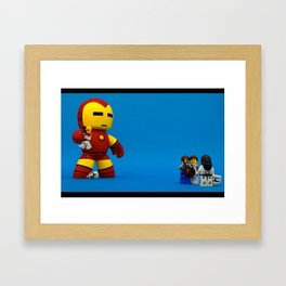 Nerdy Boyfriends Framed Art Print