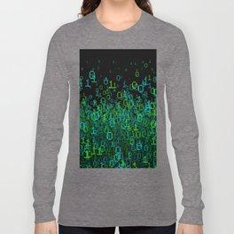 Binary Cloud Long Sleeve T-shirt