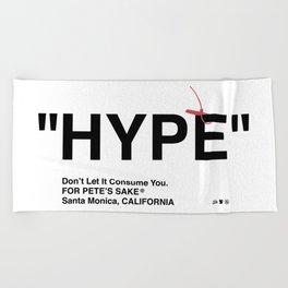 """""""HYPE"""" Beach Towel"""