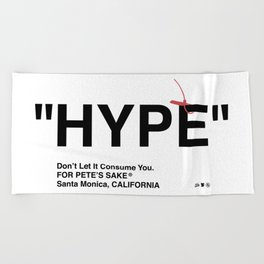 """HYPE"" Beach Towel"