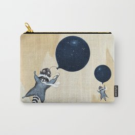 Raccoon Balloon Carry-All Pouch