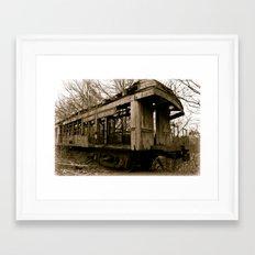 Jim Crow Car #109 Framed Art Print