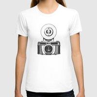 camera T-shirts featuring Camera by danielrafalski
