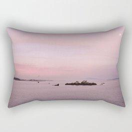 atardecer rosa, Galicia, Spain Rectangular Pillow