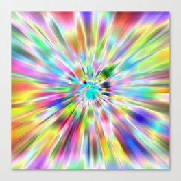 Zoompainting 4 Canvas Print
