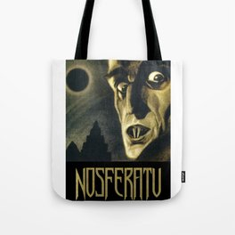 Nosferatu, Vintage Horror Movie Poster Tote Bag