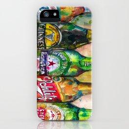 Miller Lite - Guinness- Heineken -Schlitz-Stella Artois iPhone Case