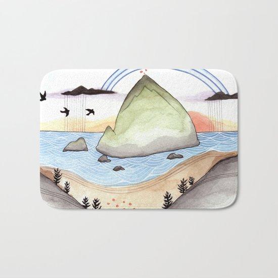 Haystack Rock Bath Mat