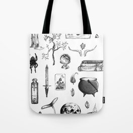 Witchy Habits Tote Bag