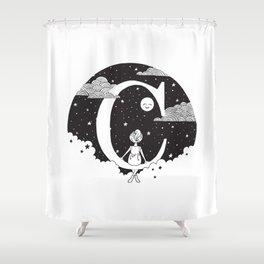 Dreamy C Shower Curtain