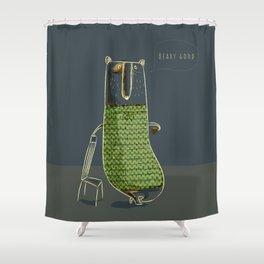 Beary good Shower Curtain