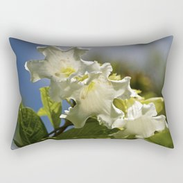 """Moonflower"" by ICA PAVON Rectangular Pillow"