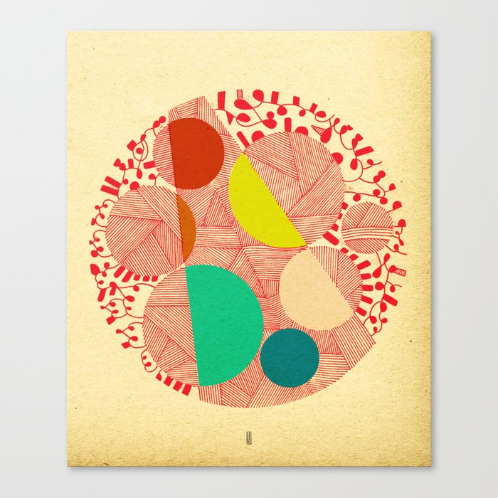 - cosmogony_02 - Canvas Print