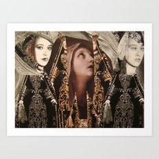 Notre Dame des Larmes Art Print