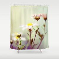 blush Shower Curtains featuring Blush by Sandra Arduini