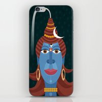 transformer iPhone & iPod Skins featuring Lord Shiva - Transformer or Destroyer by quackdesigns