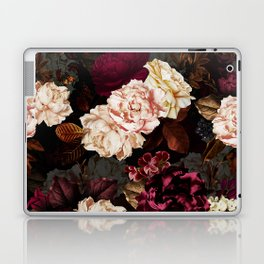 Vintage & Shabby Chic - Midnight Rose and Peony Garden Laptop & iPad Skin