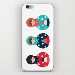 Matrioshkas Group iPhone Skin