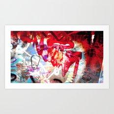 Southern Grime #6 Art Print