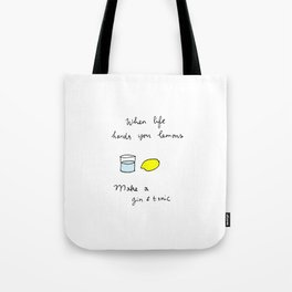 Gin & Tonic Tote Bag